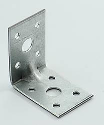 Уголок универсальный с ребром жесткости 50х50х35 х 2,0 мм