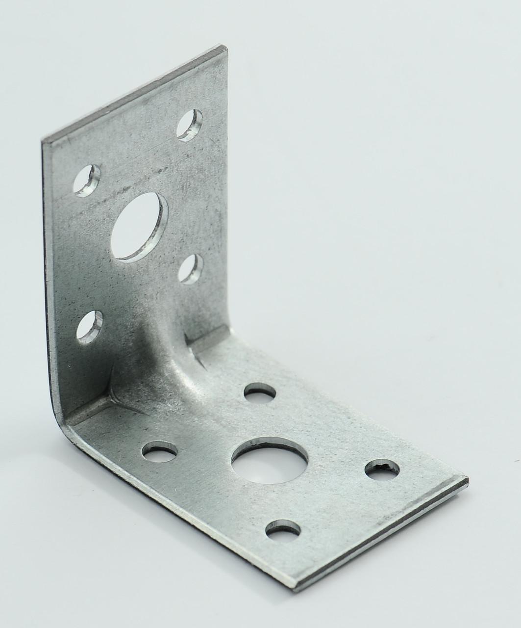 Уголок универсальный с ребром жесткости 50х50х35 х 2,5 мм