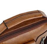 Чоловіча барсетка на плече Polo Kim, фото 7