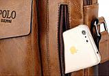 Чоловіча барсетка на плече Polo Kim, фото 8
