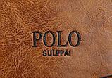 Чоловіча барсетка на плече Polo Kim, фото 9