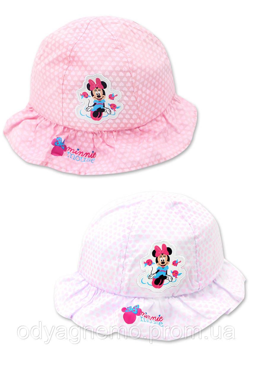 Панама для девочек Disney оптом, 50-52 см.