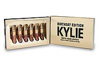 Набор жидких матовых помад Kylie Birthday Edition (6 оттенков)