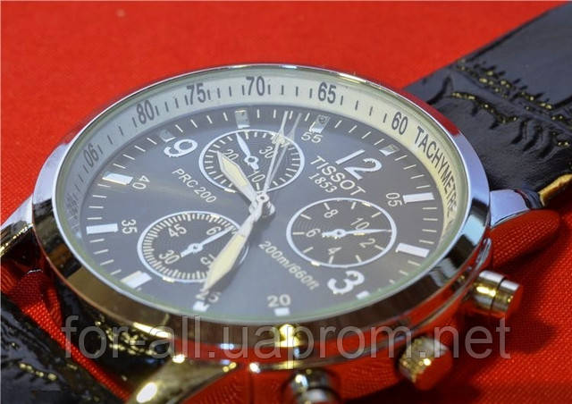 копии мужских часов Tissot PRC200  в интернет-магазине Модная покупка