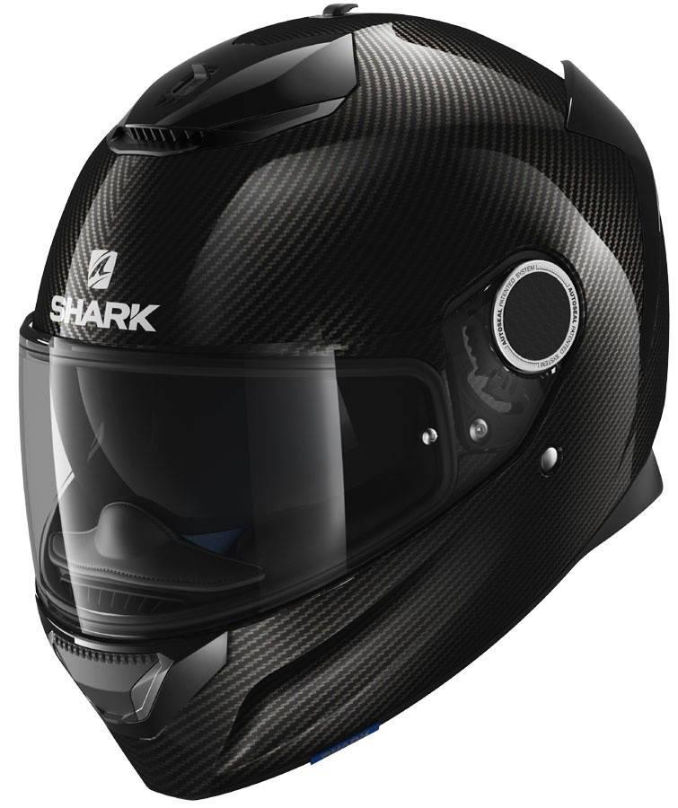 Шлем Shark Spartan Carbon Skin р.M, черный