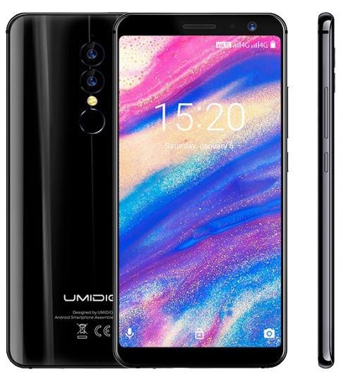 """Смартфон Umidigi A1 Pro 3/16Gb Black, 13+5/5Мп, 5,5"""" IPS, 3150mAh, 2sim, MT6739T, 4 ядра, 4G (LTE)"""