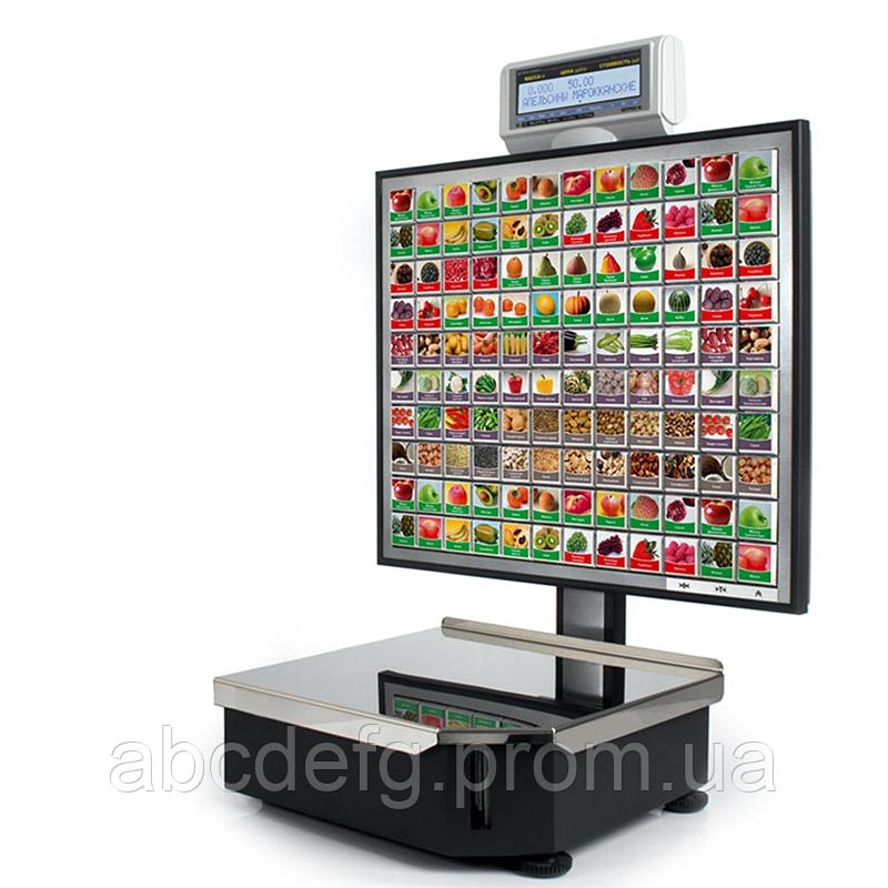 Весы для печати на этикетке ШТРИХ-Принт С 120  4.5 (2 Мб)