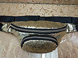 Женский сумка на пояс искусств кожа с блестками качество стильный сумка  Материал: Экокожа продвинутый PU  Про, фото 2