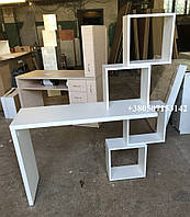 Оригинальный стационарный стол Кубы Модель V235 белый, фото 1