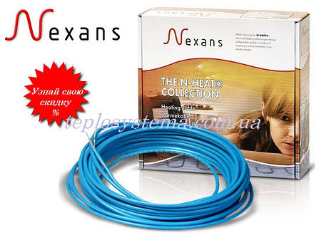 Одножильный нагревательный кабель NEXANS TXLP/1 1750/17 – 1750 Вт, Норвегия , фото 2