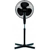 Вентилятор напольный Supra SSF-30 Black,  30W, 3 скорости, диаметр 30 см