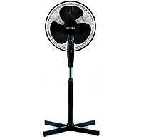 Вентилятор напольный Supra SSF-40BR Black, 45W, 3 скорости, диаметр 40 см, пульт ДУ, таймер