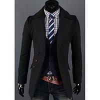 Стильный мужской пальто-пиджак, фото 1