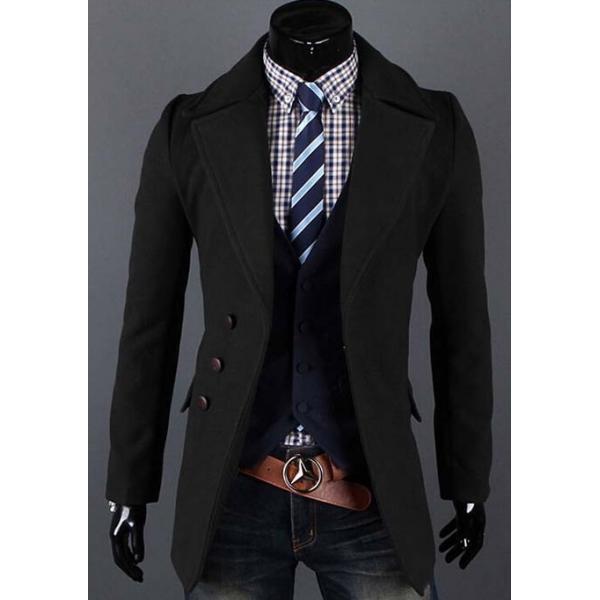 Стильный мужской пальто-пиджак - V-grupe - Интернет-магазин в Луцке ace12088faa31