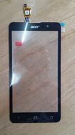 Оригинальный тачскрин / сенсор (сенсорное стекло) для Acer Liquid Z520 (черный цвет)