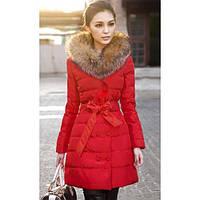 Куртка женская с меховым воротником весна-осень (s-m размеры)