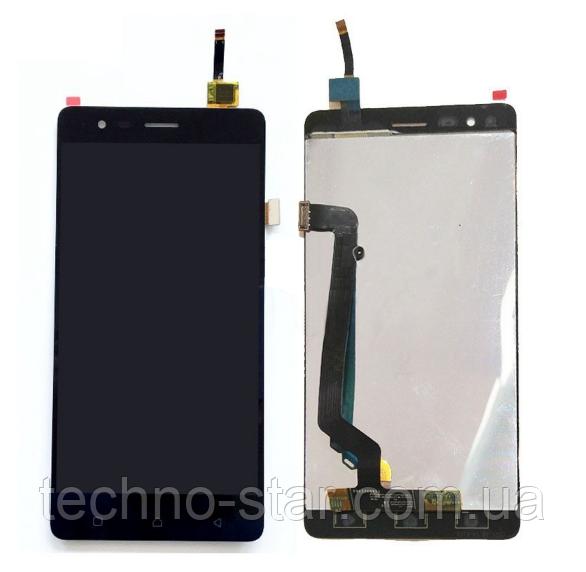Оригинальный дисплей (модуль) + тачскрин (сенсор) для Lenovo Vibe K5 Note | A7020 | K52e78 (черный цвет)