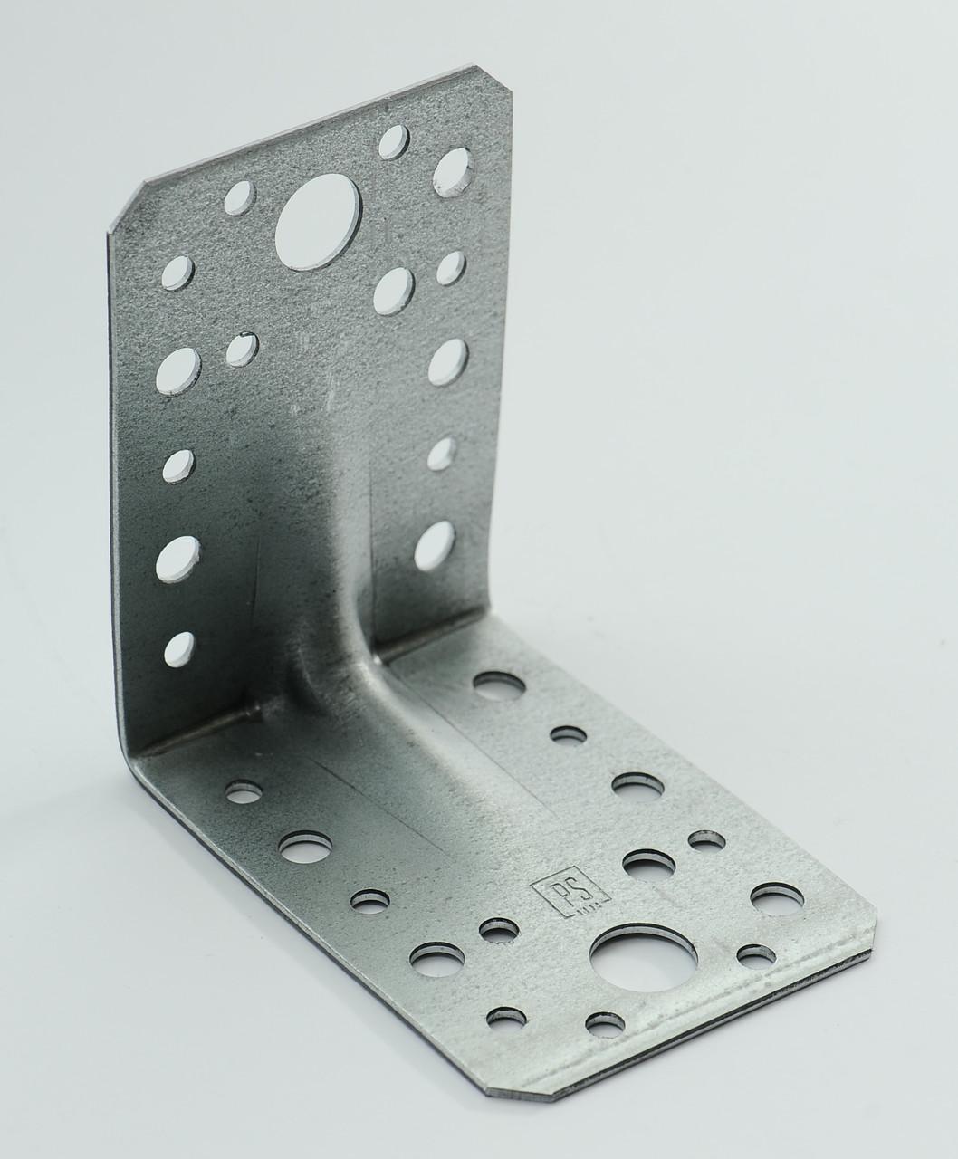 Уголок универсальный с ребром жесткости 90х90х65 х 1,8 мм
