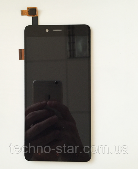 Оригинальный дисплей (модуль) + тачскрин (сенсор) для Xiaomi Redmi Note 2 (черный цвет)