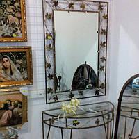 Кованное зеркало большое