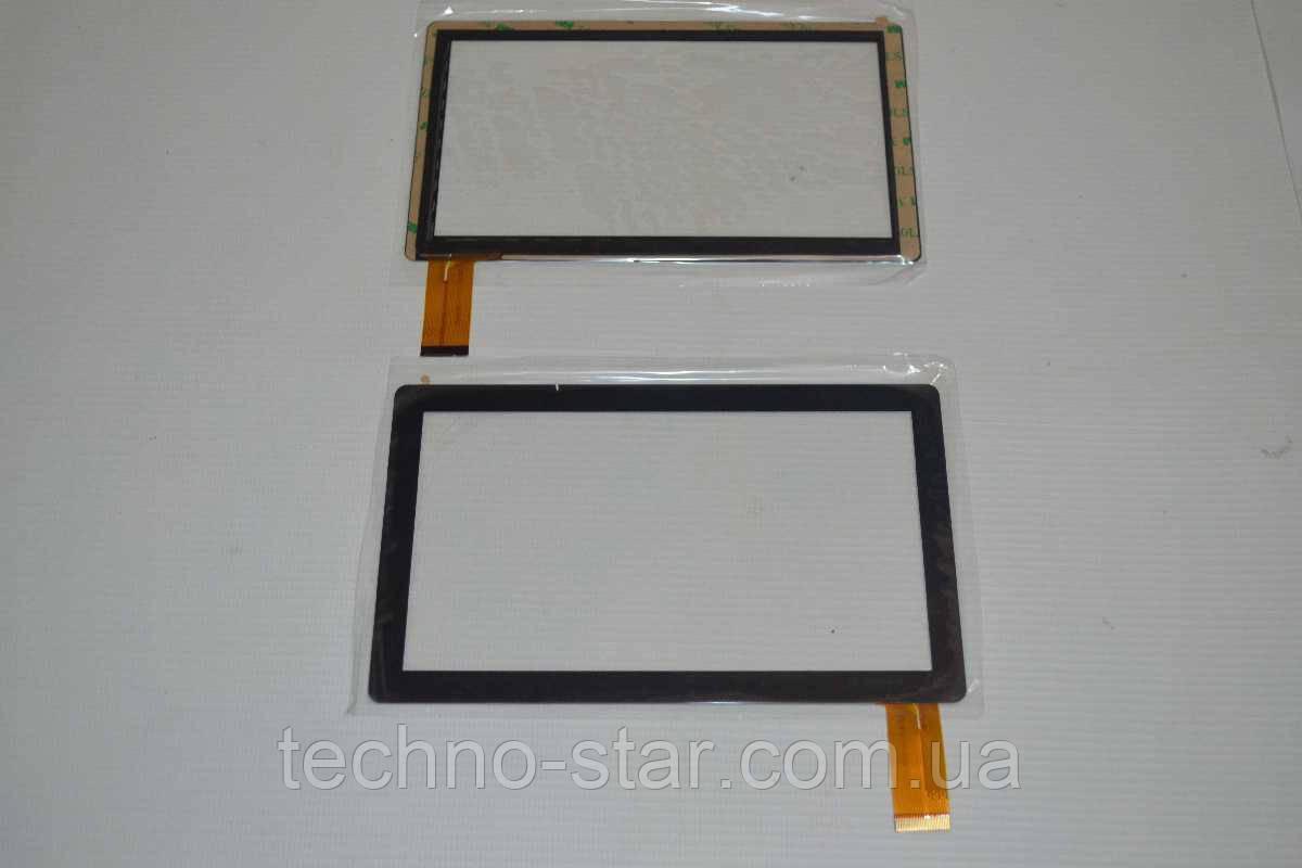 Оригинальный тачскрин / сенсор (сенсорное стекло) для Crown B704 (черный цвет, самоклейка)