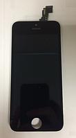 Оригинальный дисплей (модуль) + тачскрин (сенсор) для Apple iPhone 5C (черный цвет)