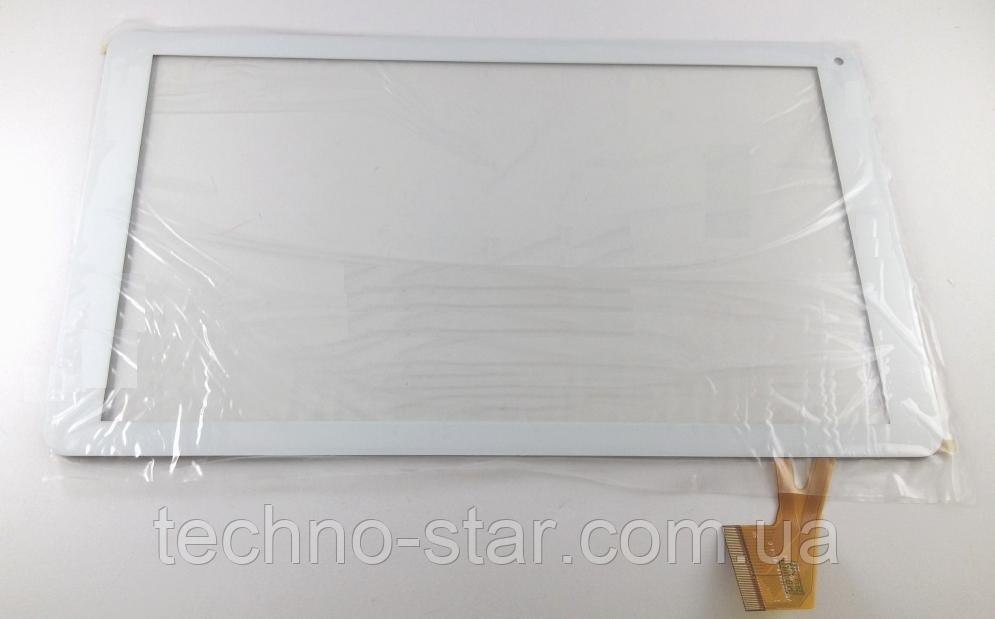 Оригинальный тачскрин / сенсор (сенсорное стекло) для Nomi A10101 (белый цвет, самоклейка)