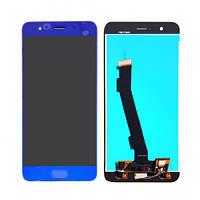 Дисплей (экран) для Xiaomi Mi Note 3 + тачскрин, синий
