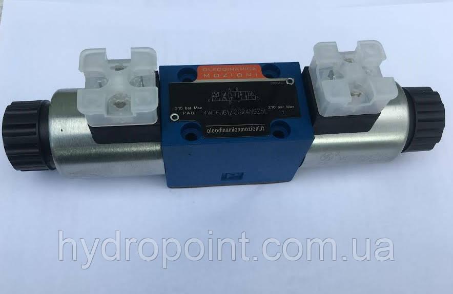Гидрораспределитель с электромагнитным управлением 4WE6-J-32/G24NZ4 Ponar  (цена с НДС)