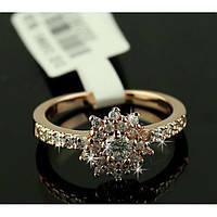Женское кольцо Цветок, фото 1
