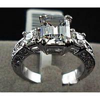 Женское кольцо Цирконий, фото 1