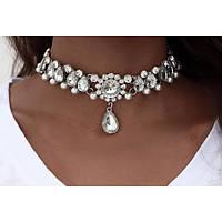 Женское ожерелье Кристалл