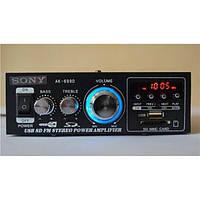 Стерео усилитель звука c USB, SD, FM, фото 1