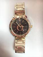 Женские наручные часы Pandora цвета золото с черным циферблатом Пандора, фото 1