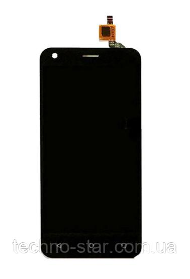 Оригинальный дисплей (модуль) + тачскрин (сенсор) для Fly FS454 Nimbus 8 (черный цвет)