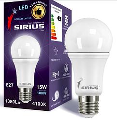 3101 G-лампа LED 1-LS-3101 А60 10W-3000K-E27