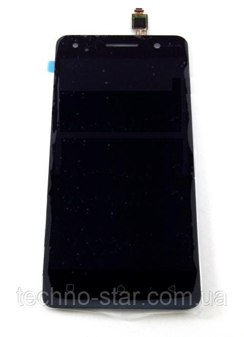 Оригинальный дисплей (модуль) + тачскрин (сенсор) для Lenovo Vibe S1 Lite | S1La40 (черный цвет)