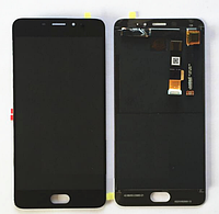 Оригинальный дисплей (модуль) + тачскрин (сенсор) для Meizu E | M3E | A680H (черный цвет)