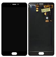 Оригинальный дисплей (модуль) + тачскрин (сенсор) для  Meizu M3 Max (черный цвет)