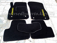 Ворсовые коврики в салон CHEVROLET Cruze (Черные)