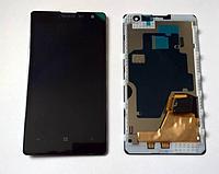 Оригинальный дисплей (модуль) + тачскрин (сенсор) с рамкой для Nokia Lumia 1020