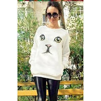 Женский свитер кошка, фото 1