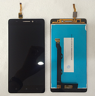 Оригинальный дисплей (модуль) + тачскрин (сенсор) для Lenovo A7000 Note (черный цвет)