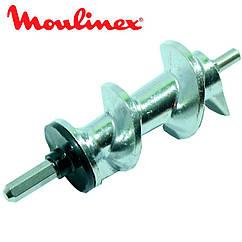 ➜ Шнек для мясорубки Moulinex SS-989487 (с уплотнительным кольцом) L=128