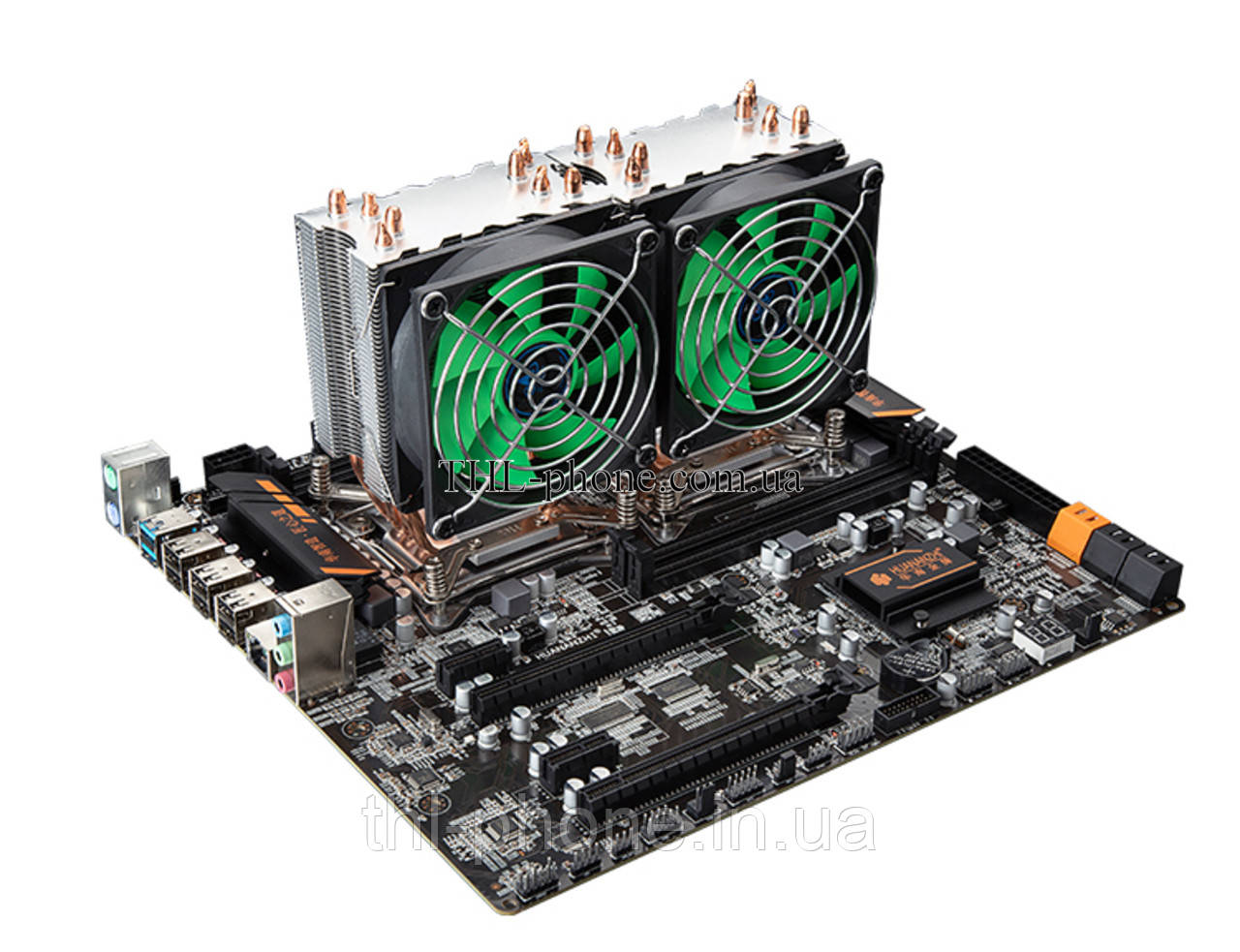 Комплект 2 Xeon e5 2680 V2, HUANANZHI X79 Dual Board Память 16/32/64 Гб 2 Кулер Lga 2011 Huanan