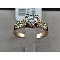 Женское кольцо Айрин позолота, фото 1