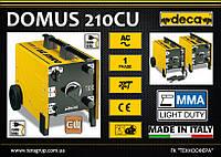Сварочный аппарат - трансформатор 220/380В, 30-180А.,  DECA DOMUS 210CU