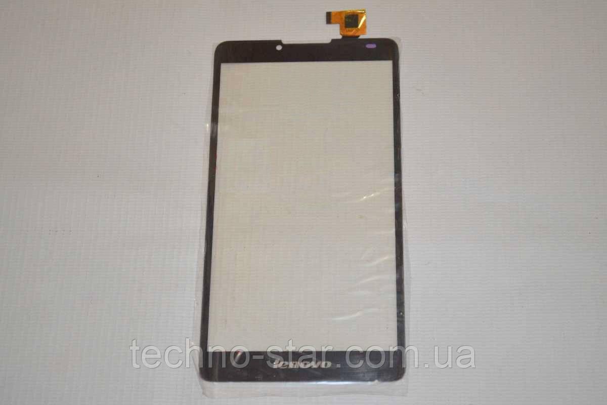 Тачскрин / сенсор (сенсорное стекло) для Lenovo A889 (черный цвет, версия 1)