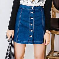 ✅ Джинсовая юбка Miami / мини юбка