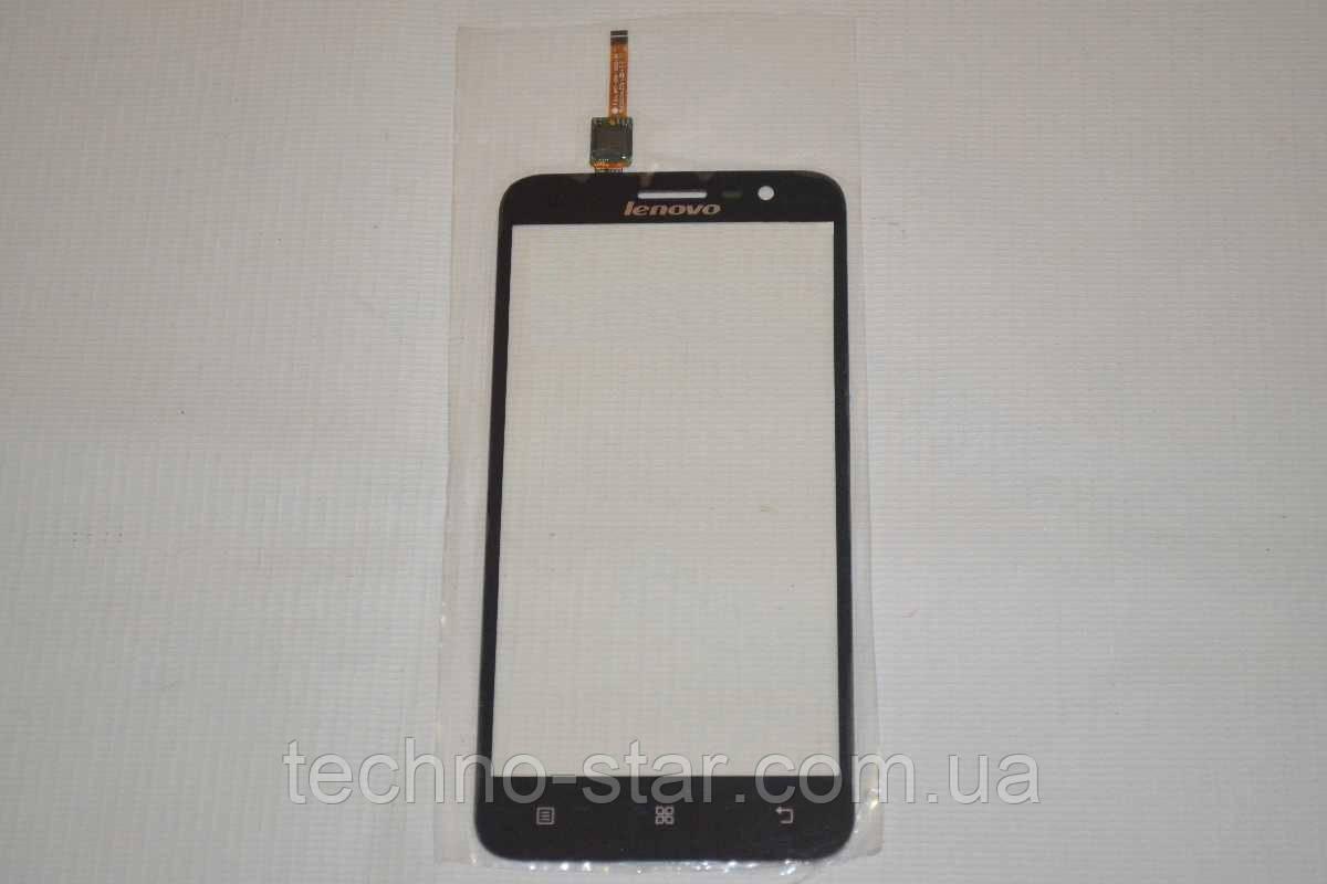 Оригинальный тачскрин / сенсор (сенсорное стекло) для Lenovo Golden Warrior A8 A806 | A808T (черный цвет)